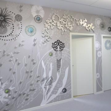 Peinture murale sophie briand collet designer rennes for Dessin mural peinture