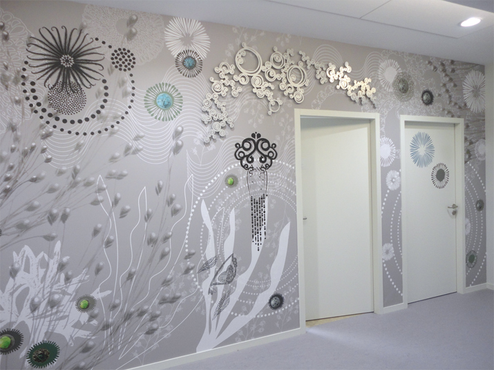 Design mural : création de fresques monumentales à l'Université Rennes 2
