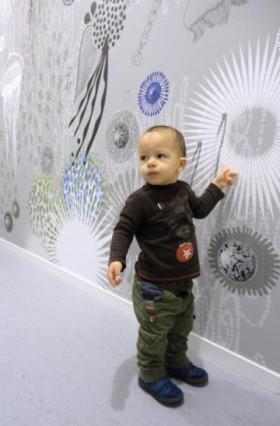 Design mural, design d'espace : personnalisation des murs