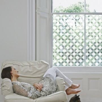 Design mural : création d'une collection de films décoratifs pour vitres, thème graphique