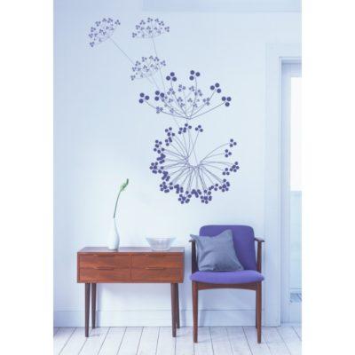 décoration murale, décor mural, sticker design, nature, végétal