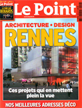 Le Point. Rennes, architecture et design. « Le parquet version Briand » (octobre 2012)