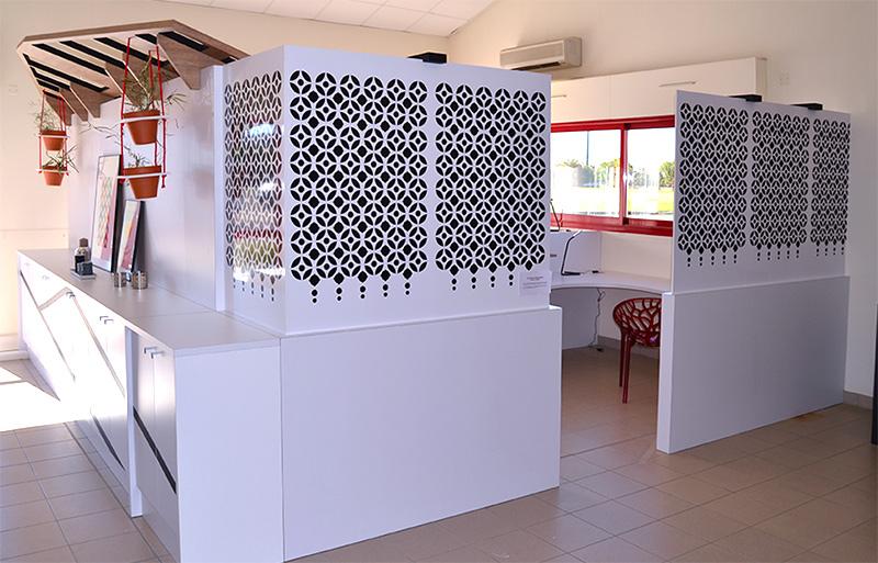 design mural dessins motifs graphiques et ornements pour l architecture sophie briand. Black Bedroom Furniture Sets. Home Design Ideas