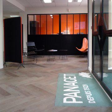 Un nouveau hall d'accueil pour Panaget