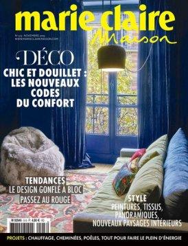 Marie Claire Maison : «PANAGET, le couturier du parquet» (nov. 2019)