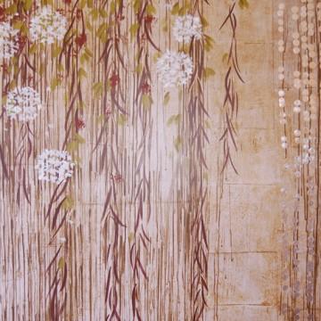 Panneau décoratif haut de gamme pour dressing. Design Sophie Briand-Collet
