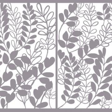 Création de motifs en découpe pour portails, clôtures et garde-corps. Design Sophie Briand-Collet