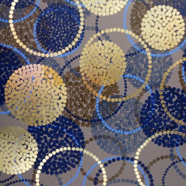 décor mural personnalisé, décor panoramique, peinture murale, panneaux de décoration murale, composition murale sur mesure, design Sophie Briand