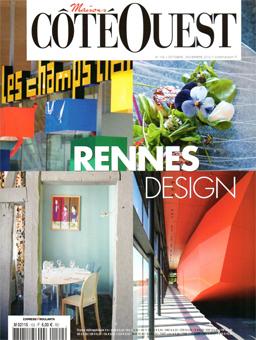 Côté Ouest. Rennes, rendez-vous avec le design. Rencontre avec Sophie Briand-Collet (oct. nov. 2012)