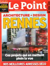 Le Point. Rennes, architecture et design. «Le parquet version Briand» (octobre 2012)
