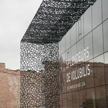 Tendance / Design mural : la résille habille les façades des bâtiments
